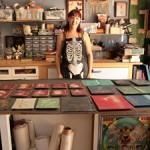 Shannon Amidon Studio Visit - photo Marie Cameron 2015