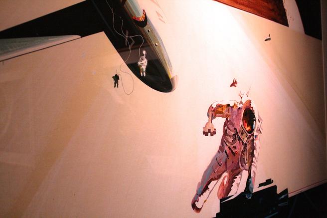 Rich Guidice -The Nasa Paintings - NUMU - photo Marie Cameron 2015
