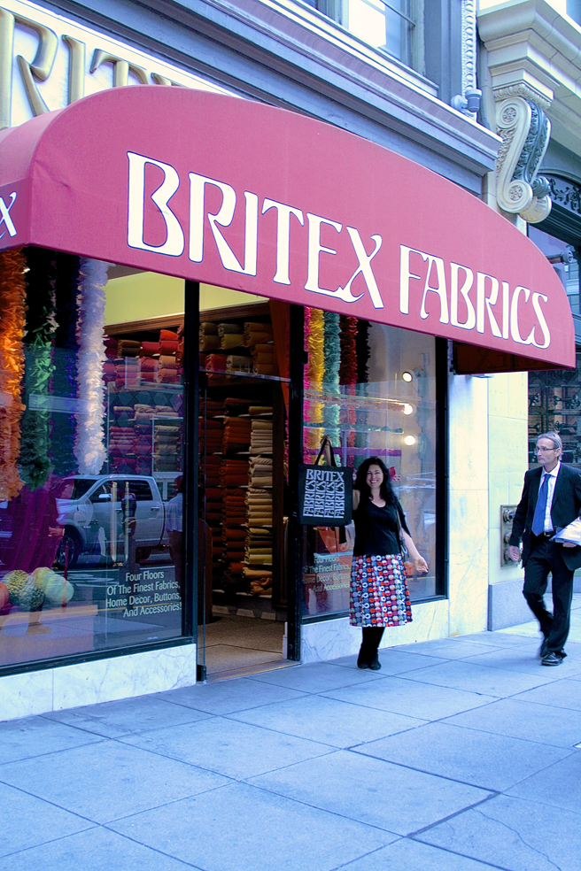 Britex - Bag - photo Elizabeth Greer 2015