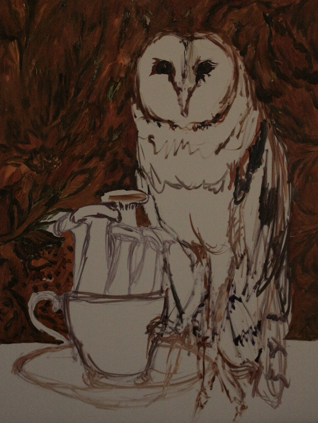 Mushroom Tea I (WIP)  2 - Marie Cameron 2015
