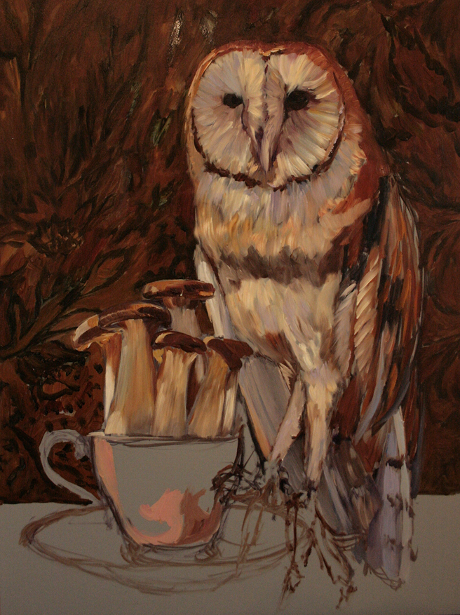 Mushroom Tea I (WIP)  4 - Marie Cameron 2015