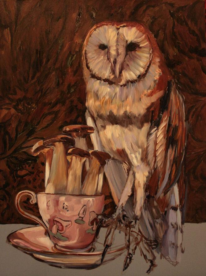 Mushroom Tea I (WIP)  5 - Marie Cameron 2015