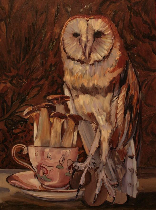 Mushroom Tea I (WIP)  6 - Marie Cameron 2015