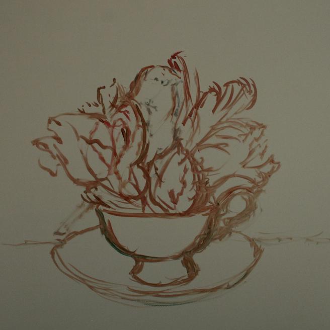 Tulip Tea I (WIP) 1 - Marie Cameron 2015