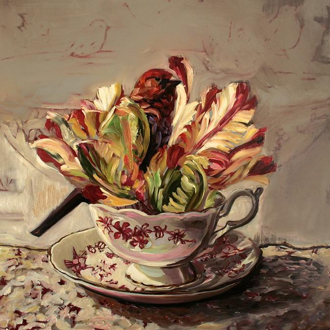 Tulip Tea I (WIP) 10 - Marie Cameron 2015