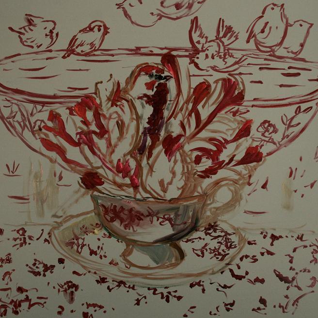 Tulip Tea I (WIP) 2 - Marie Cameron 2015