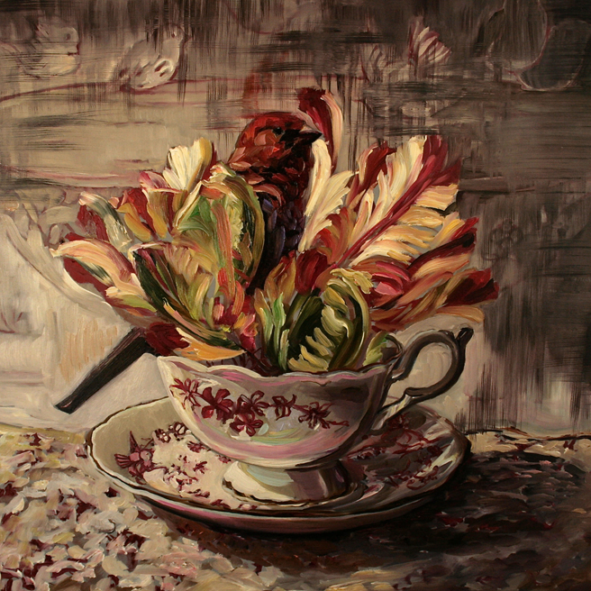 Tulip Tea I (WIP) 9 - Marie Cameron 2015