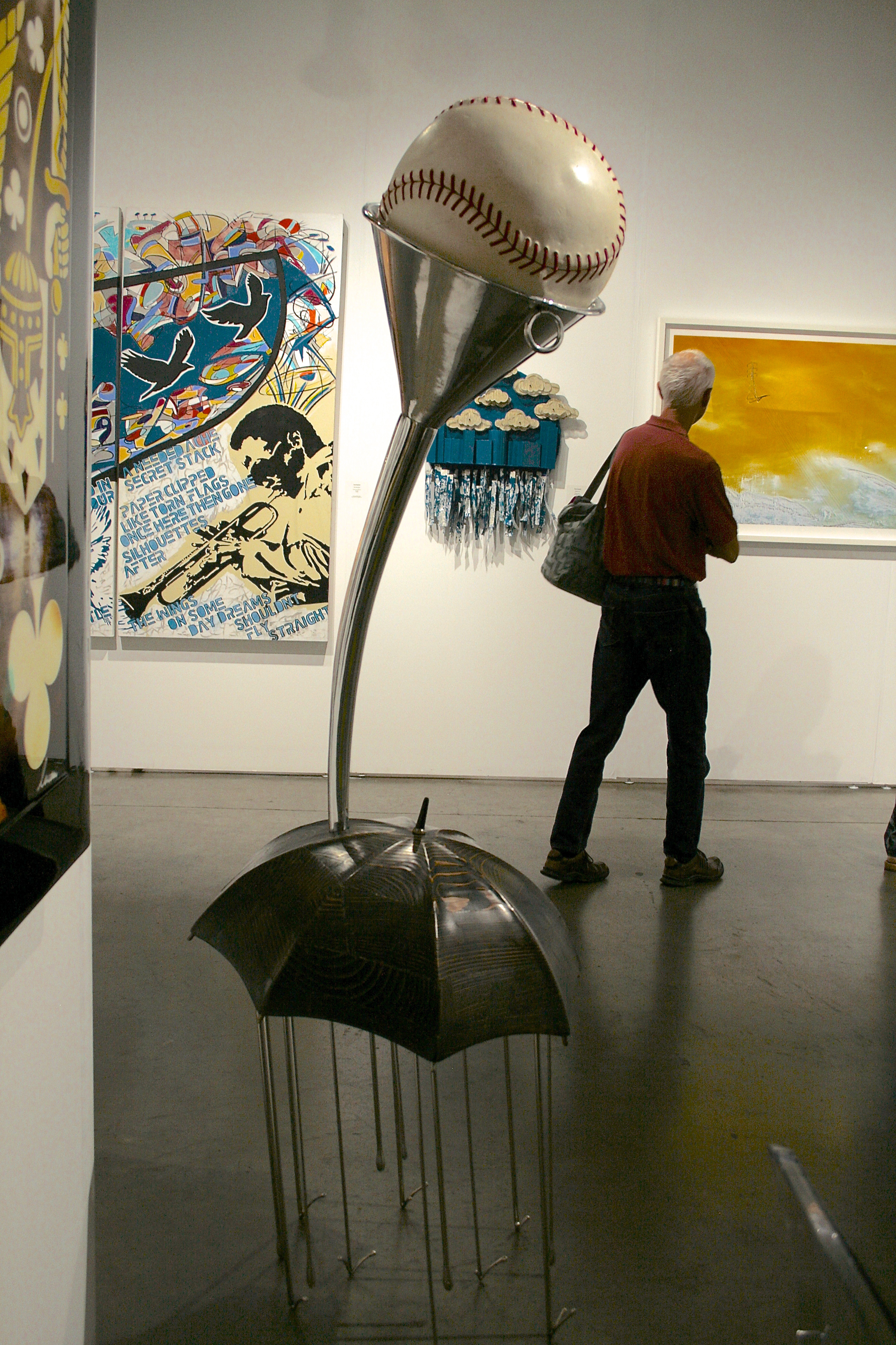 art SV SF - David Middlebrook - The Game -2013- The McLoughlin Gallery - photo Marie Cameorn 2015