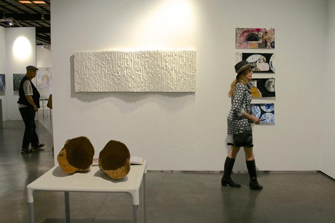 art SV SF - Jessica Drenk and Joan Bellmar - Adah Rose Gallery - photo Marie Cameron 2015