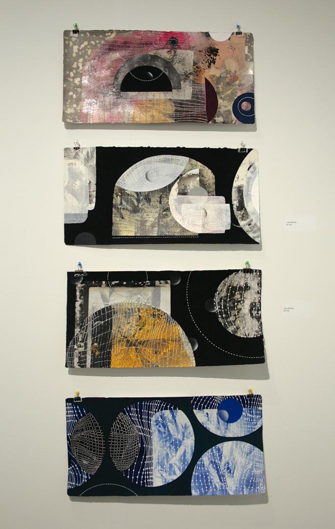 art SV SF - Joan Bellmar - Mixed media on paper - Adah Rose Gallery - photo Marie Cameron 2015