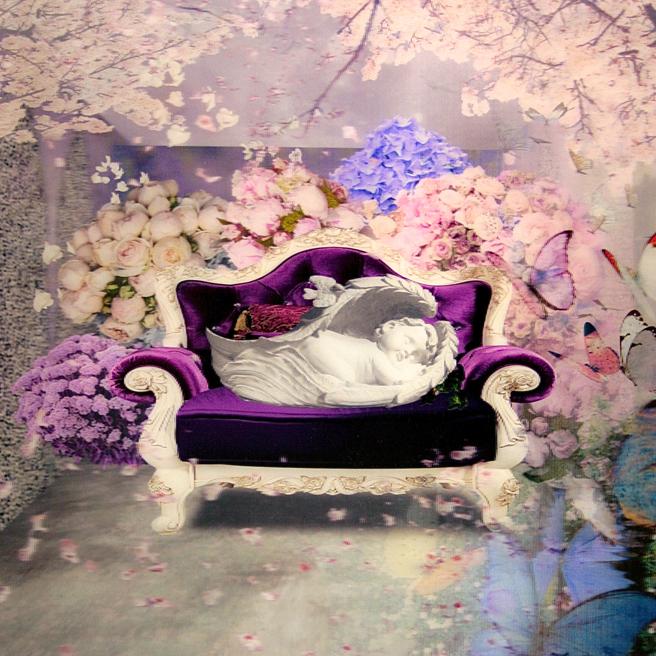 art SV SF - Pil-Hyun Park - Dream of Angel - Lenticular- Gallery Tableau - photo Marie Cameron 2015