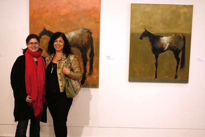 Coffee with the Curator - Triton Museum of Art - Fleur Spolidor and Marie Cameron 2015