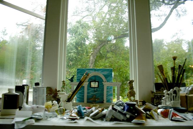 Rainy Day at the Studio - 1 - photo Marie Cameron 2015