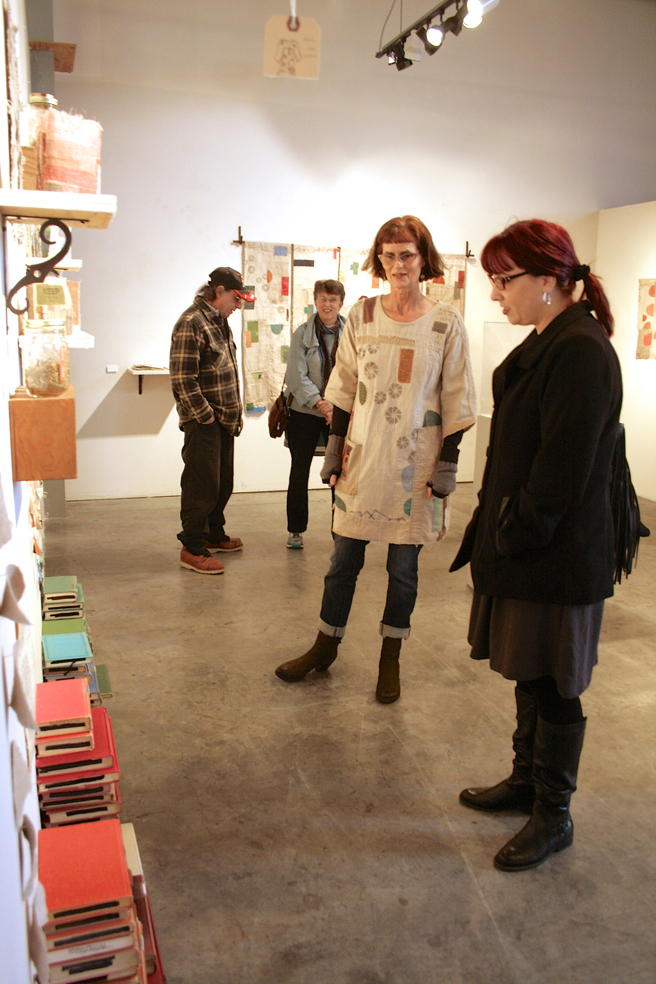 Jody Alexander - Keep Modern Library - R. Blitzer Gallery - with Shannon Amidon - photo Marie Cameron - 2016