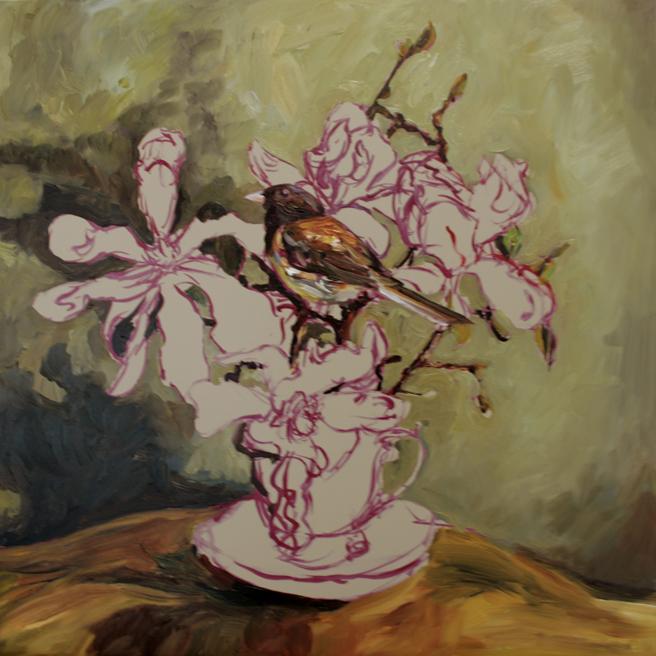 Magnolia Tea I  (WIP) 4 - Marie Cameron 2016