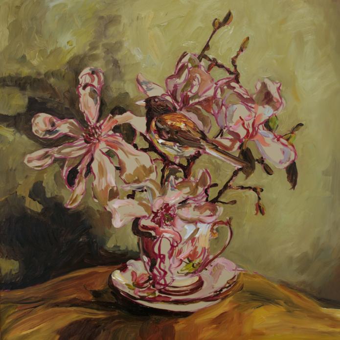 Magnolia Tea I  (WIP) 5 - Marie Cameron 2016
