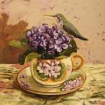 Violet Tea I (WIP 9) Marie Cameron 2016 sm