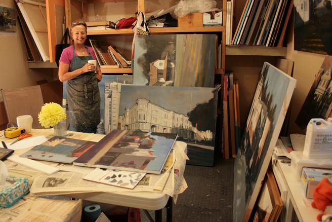 Carole Rafferty Studio - Marie Cameron 2015