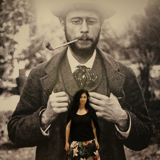 Photograph of Pierre Bonnard - Legion of Honor- Marie Cameron - photo OP 2016