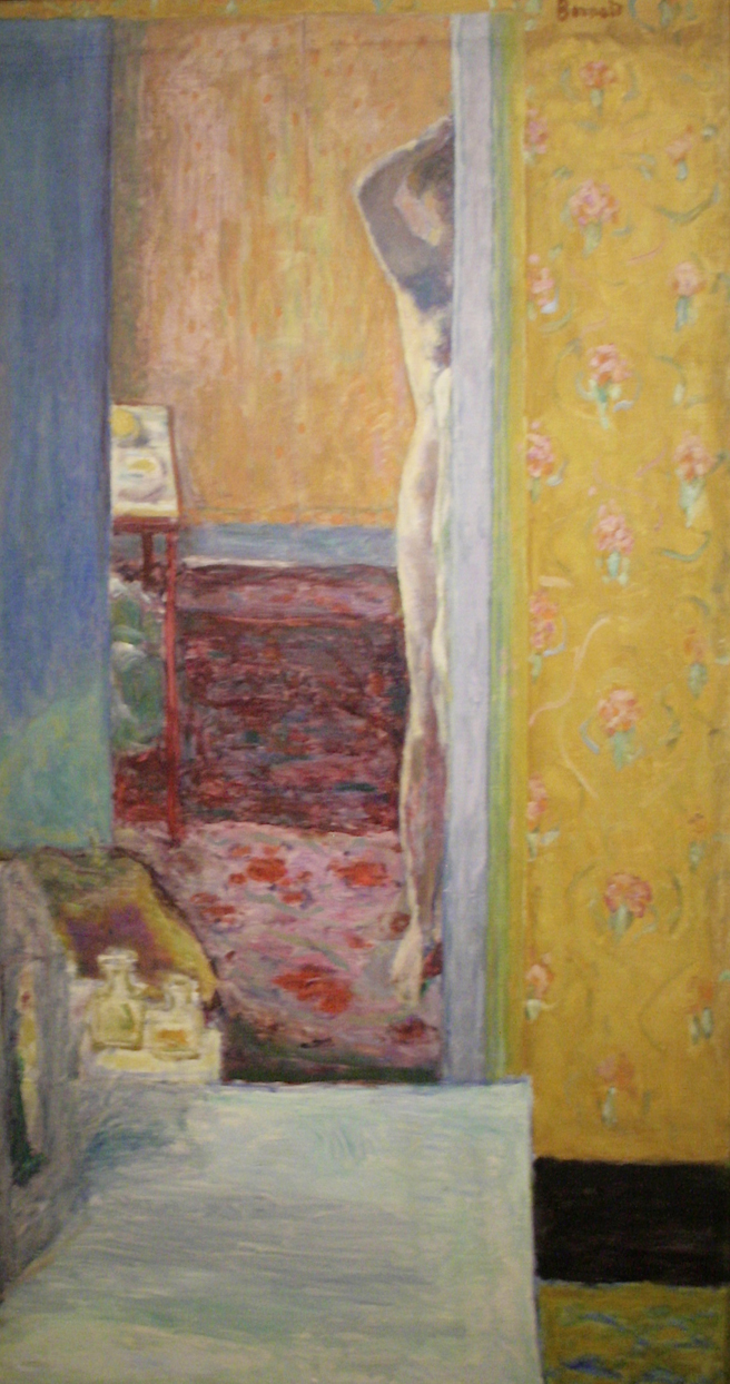 Pierre Bonnard - Nude in an Interior - 1912-14 - oil on canvas - Legion of Honor - photo Marie Cameron 2016