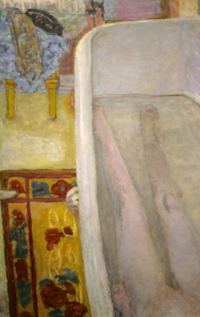 Pierre Bonnard - Nude in the Bathtub - 1925 - oil on canvas- photo Marie Cameron 2016