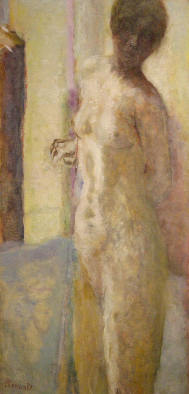 Pierre Bonnard - Pink Nude, Head in Shadow - 1919 - oil on canvas - Legion of Honor - photo Marie Cameron 2016