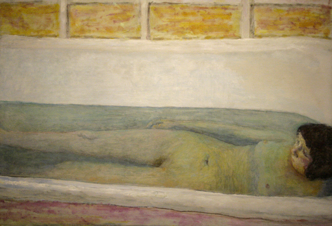 Pierre Bonnard - The Bath - 1925- oil on canvas - Legion of Honor - photo Marie Cameron 2016