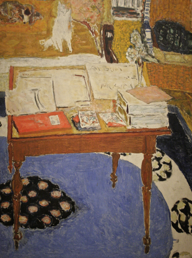 Pierre Bonnard - Work Table - 1926- 1937 - oil on canvas - Legion of Honor - photo Marie Cameron 2016