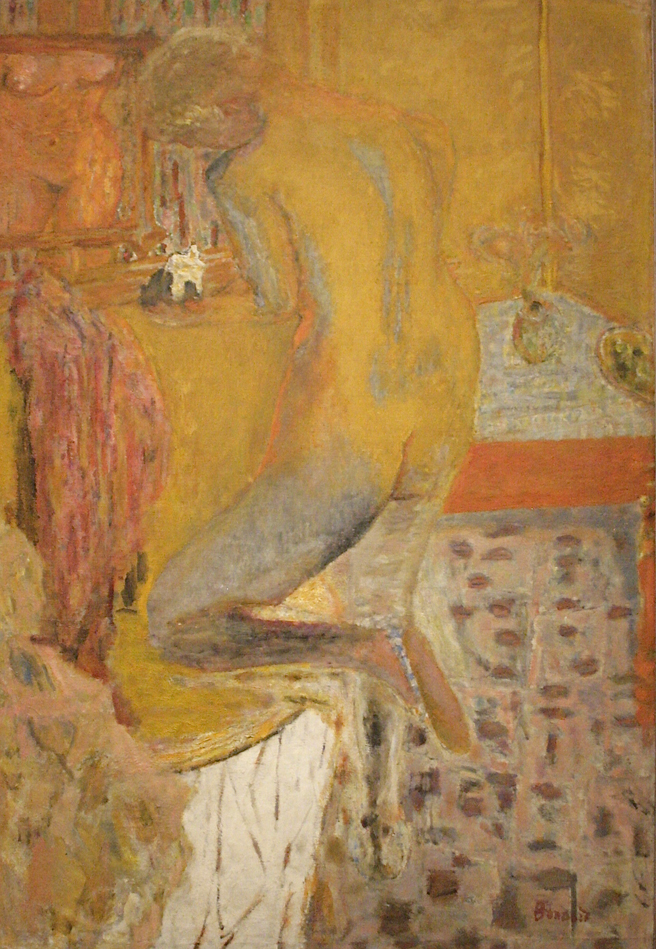 Pierre Bonnard - Yellow Harmony - 1934 - oil on canvas - Legion of Honor - photo Marie Cameron 2016