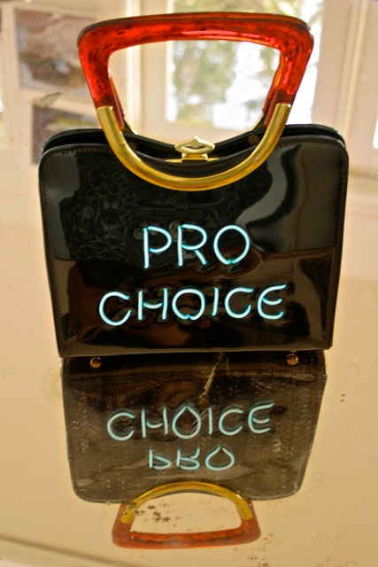 Pro Choice Purse - Michele Pred - Pred-à-Porter- photo Marie Cameron 2016