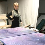 Lorraine Lawson Studio - Purple Underpainting - Marie Cameron 2016 sm