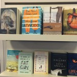 Christy Ann Conlin's photo of a Can Lit Shelf in a bookstore in Halifax NS. 2016 sm