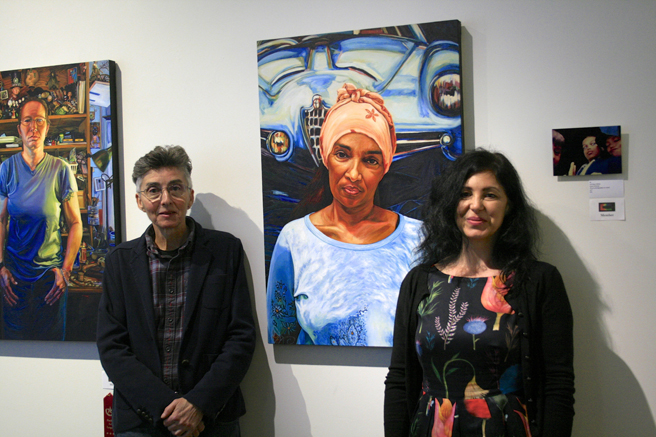 Figures and Faces Reception - Lynne Todaro and Marie Cameron 2016