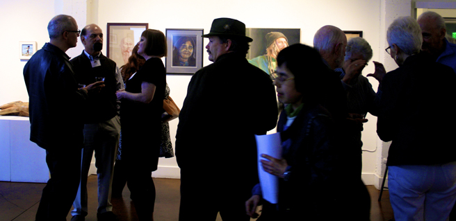 Figures and Faces Reception PAL 14- photo Marie Cameron 2016