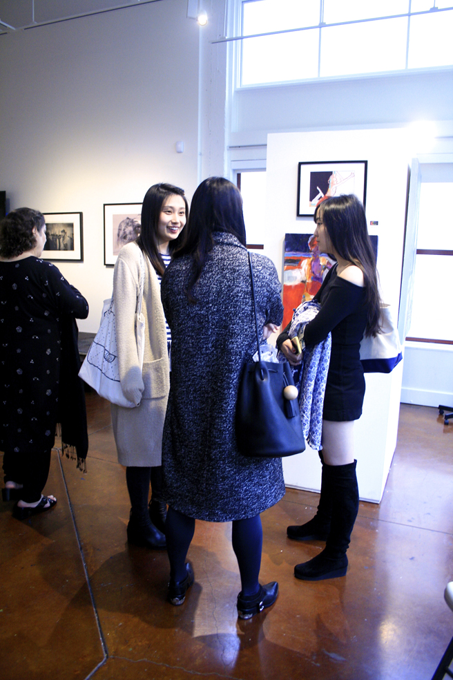 Figures and Faces Reception PAL 7- photo Marie Cameron 2016
