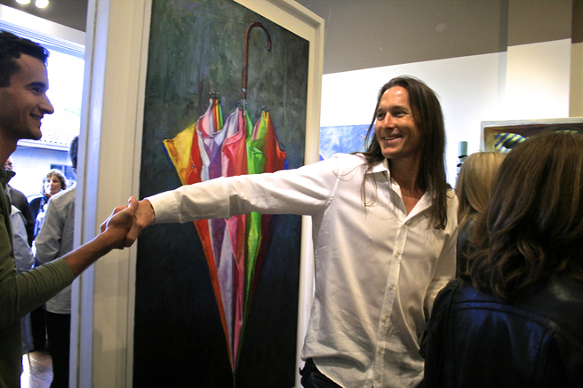 Fresh Paint - Gordon Smedt - reception 13- JCO's- photo Marie Cameron 2016