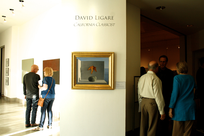 David Ligare - California Classicist - Triton MUseum of Art - Reception 1 - photo Marie Cameron - 2016