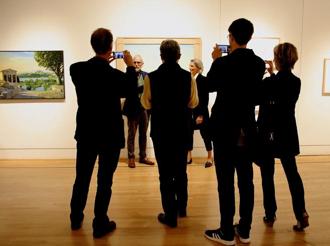 David Ligare - California Classicist - Triton MUseum of Art - Reception 20 - photo Marie Cameron - 2016