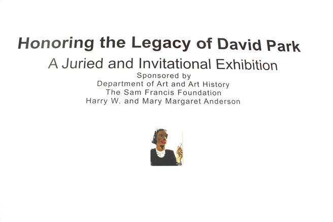 Honoring the Legacy of David Park - Reception - SCU - photo Marie Cameron - 2017 - 1