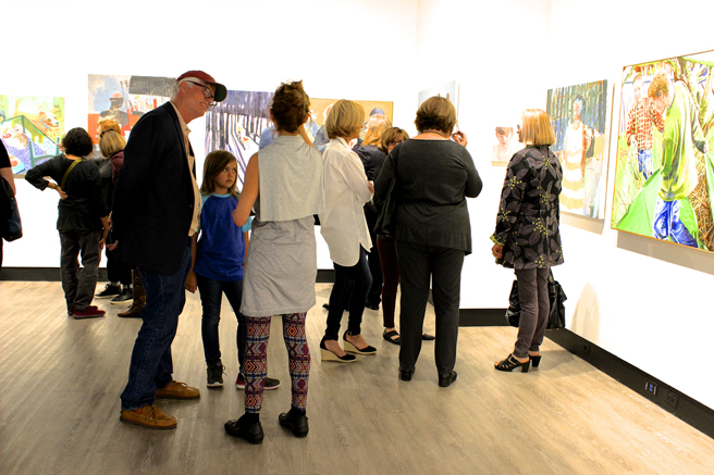 Honoring the Legacy of David Park - Reception - SCU - photo Marie Cameron - 2017 - 14