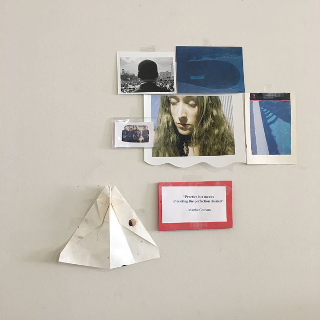 Kim Frohsin Studio Visit -11- photo Marie Cameron 2017