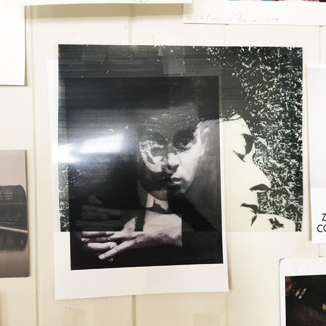 Kim Frohsin Studio Visit -20- photo Marie Cameron 2017