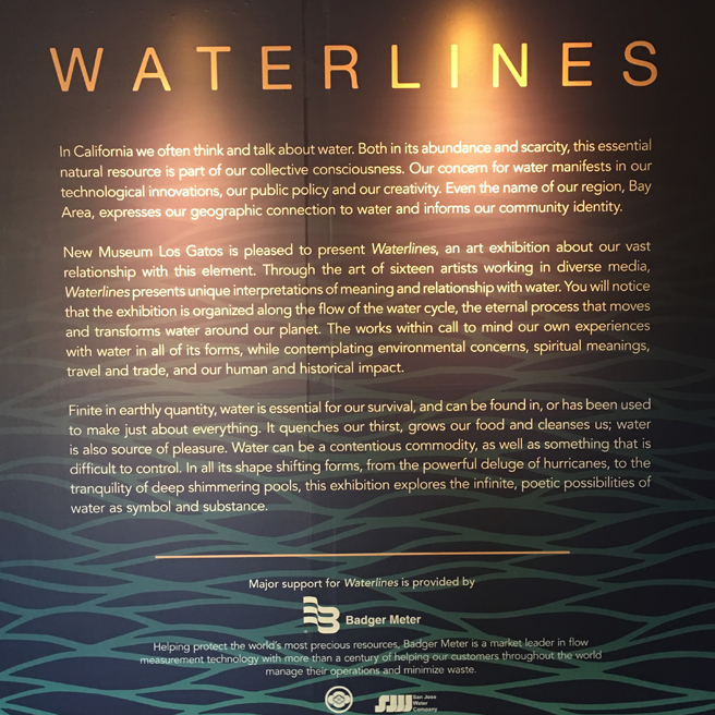 Waterlines - NUMU - 2017 - Marie Cameron