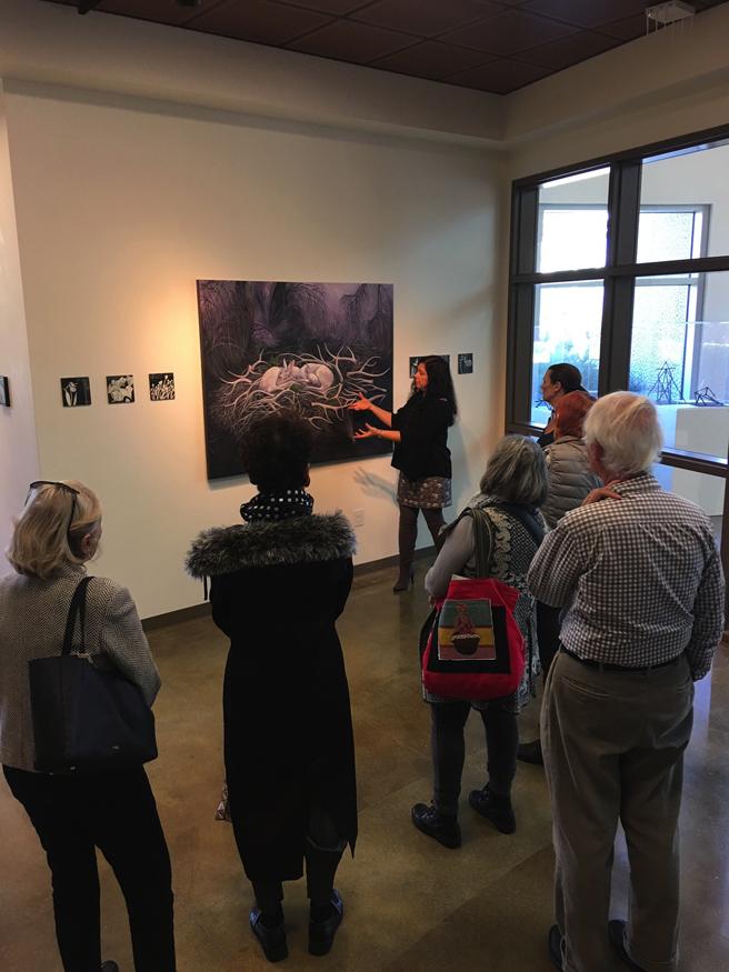 Fade - Artist Talk - 1 - photo Lorraine Lawson  2017