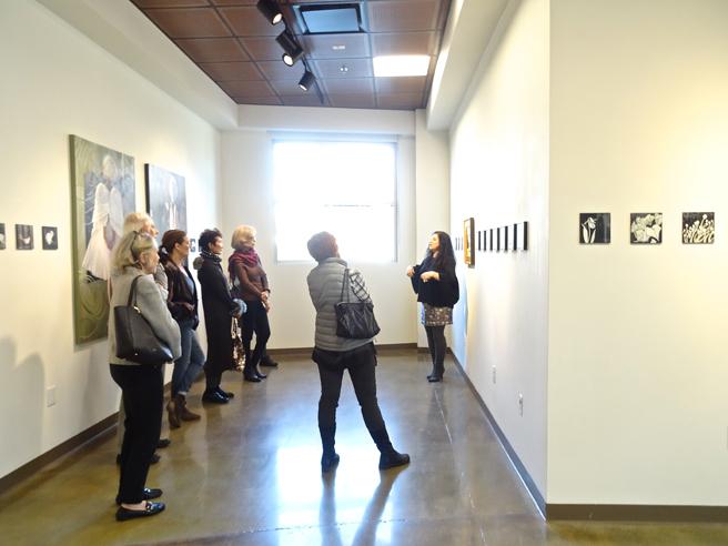 Artist Talk  4 - Fade - Vargas Gallery - photo by Dotti Cichon 2017 web
