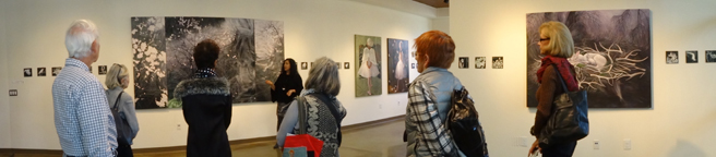 Artist Talk - Fade - Vargas Gallery - photo by Dotti Cichon 2017 web