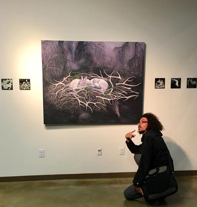 Fade Reception - Vargas Gallery 13 - Marie Cameron 2017