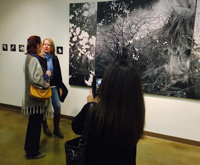 Fade Reception - Vargas Gallery 5 - Marie Cameron 2017