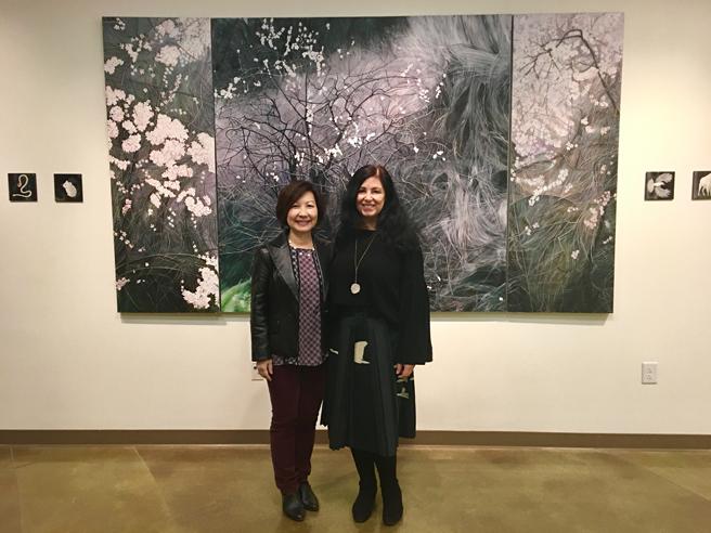 Fade Reception - Vargas Gallery 9 - Marie Cameron 2017