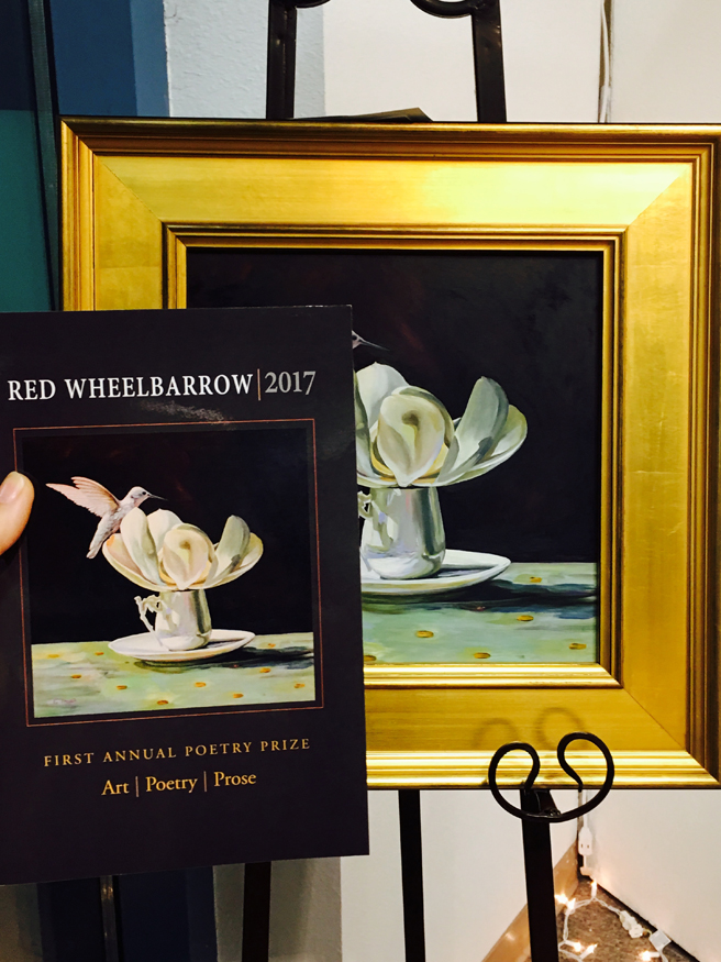 Red Wheelbarrow Launch and Reading  3- Marie Cameron 2017